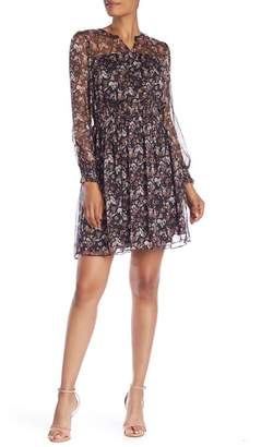 Cynthia Steffe CeCe by Abbey Bouquet Fit & Flare Dress