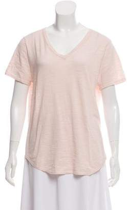 360 Sweater V-Neck Short Sleeve Top w/ Tags