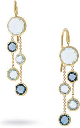 Marco Bicego Mixed Stone 2-Strand Earrings