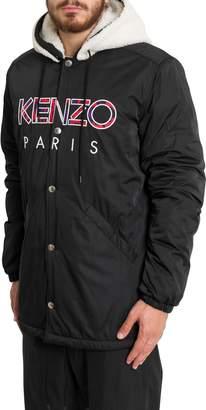 Kenzo Sherpa Lining Jacket With Logo