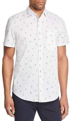Sovereign Code Lightning-Print Pismo Short-Sleeve Shirt