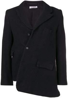 Comme des Garcons asymmetric buttoned blazer