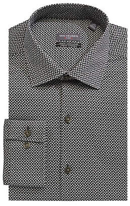 Van Heusen Cotton-Blend Slim Fit Dress Shirt