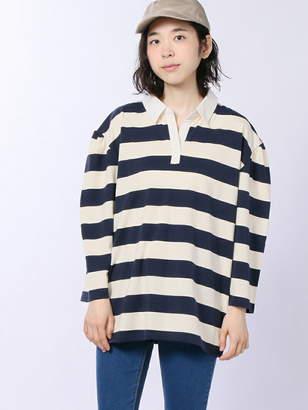 WEGO (ウィゴー) - BROWNY BROWNY/(L)袖タックBIGラガーTシャツ ウィゴー カットソー