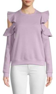 Rebecca Minkoff Gracie Cold-Shoulder Sweatshirt