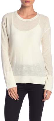 Inhabit Crew Neck Long Sleeve Cashmere Sweater