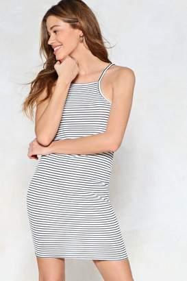 Nasty Gal Stay Stripe There Mini Dress