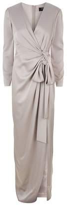 Paule Ka Ruched Waist Gown