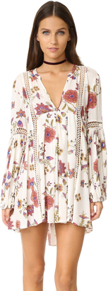 Free People Just The Two Of Us Printed Dress $118 thestylecure.com