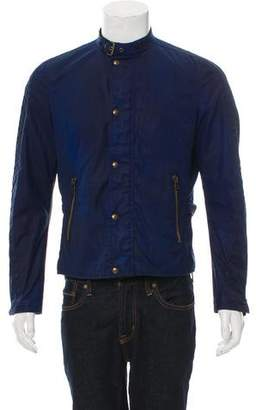 Belstaff Coated Zip-Up Jacket