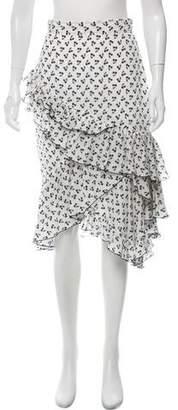 Altuzarra Silk Knee-Length Skirt