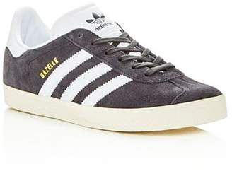 adidas Unisex Gazelle Suede Lace Up Sneakers - Big Kid
