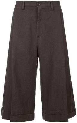 Chin Mens wide leg culottes