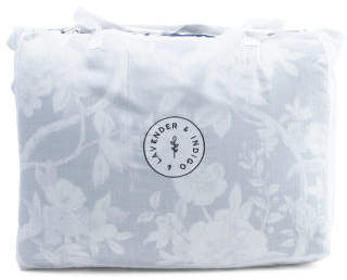 Organic Cotton Floral Comforter Set
