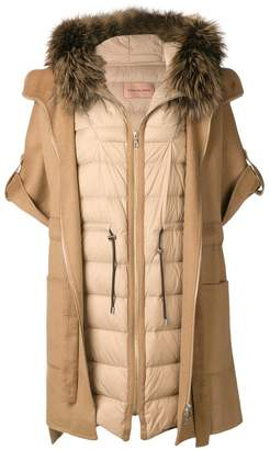 Yves Salomon layered gilet