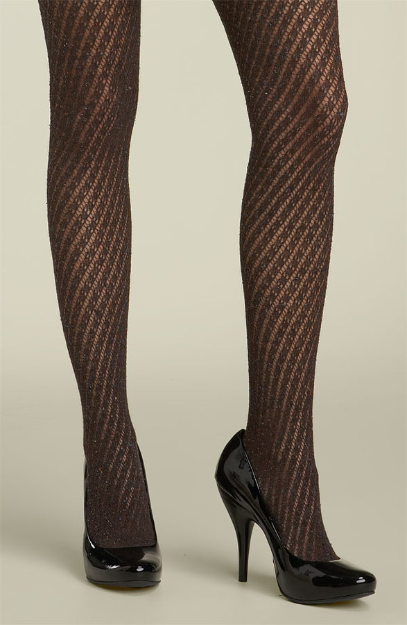 Nordstrom Marled Lace Tights