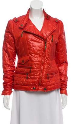 Just Cavalli Asymmetrical Puffer Jacket