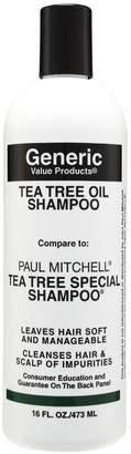 Paul Mitchell Generic Value Products Tea Tree Oil Shampoo Compare to Tea Tree Special Shampoo 16 oz.