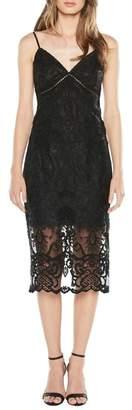 Bardot Lola Embroidered Lace Slipdress