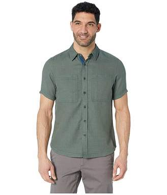 NAU Aere Short Sleeve Button Up Shirt