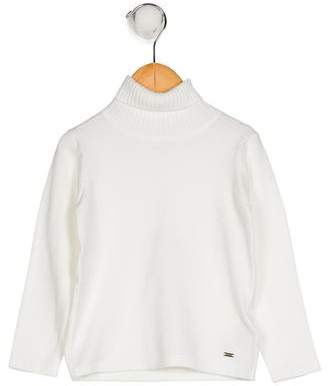 Mayoral Girls' Long Sleeve Turtleneck Sweater w/ Tags