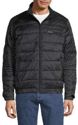 Members Only Stand Collar Puffer Jacket