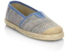 Cienta Baby's, Toddler's& Kid's Espadrille Crochet Slip-On Sneakers