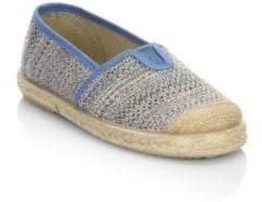 Cienta Baby's, Little Kid's& Kid's Espadrille Crochet Slip-On Sneakers