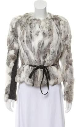 Isabel Marant Fur Knit Jacket