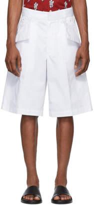 Jacquemus White Le Short Marin Shorts