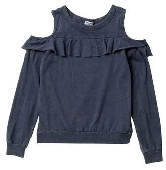Splendid Top Flunce Long Sleeve Top (Big Girls)