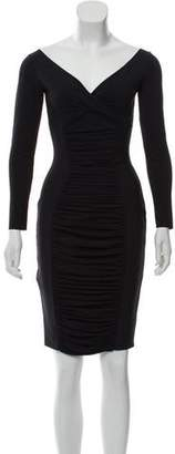 Chiara Boni Ruched Mini Dress