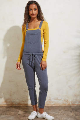 Neely Storm Grey Knit Overall Grey XS