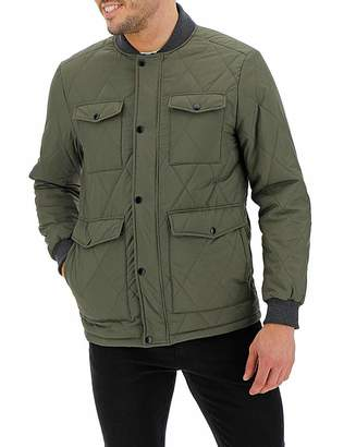 887627c07871f Mens Quilted Jacket With Collar - ShopStyle UK