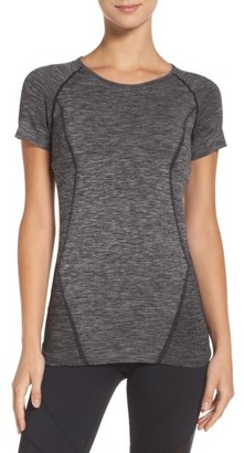 Women's Zella Stand Out Seamless Training Tee $39 thestylecure.com