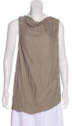 Helmut Lang Cowl Neck Sleeveless Top w/ Tags
