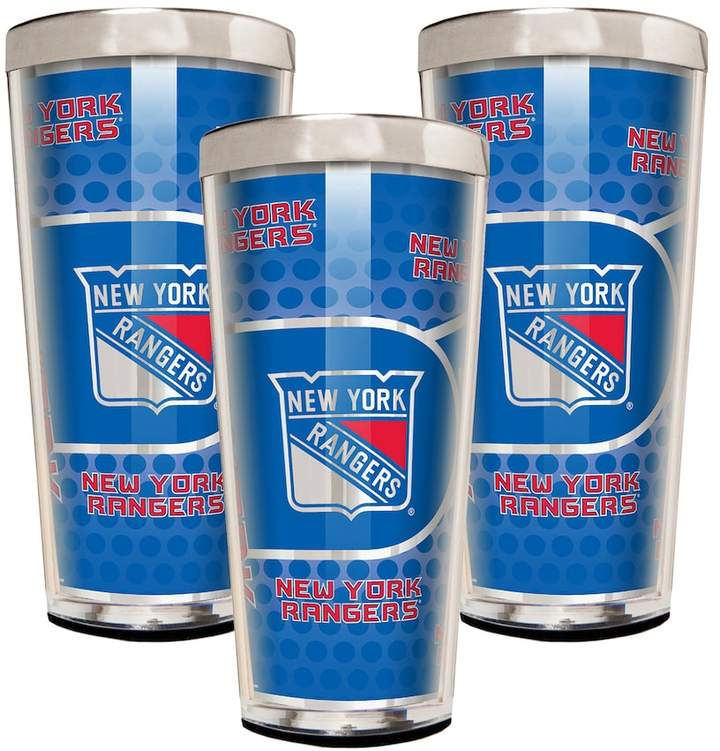 NHL New York Rangers 3-Piece Shot Glass Set