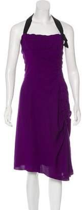 Nina Ricci Ruched Midi Dress