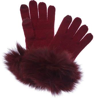 Sofia Cashmere Cashmere Knit Tech Gloves