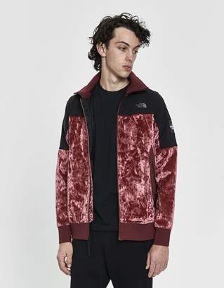 The North Face Black Series City Velvet Track Jacket in Regal Red