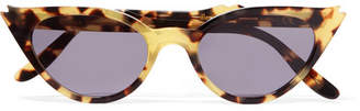 Illesteva Isabella Cat-eye Acetate Sunglasses - Tortoiseshell
