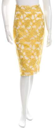 Prabal Gurung Brocade Knee-Length Skirt w/ Tags