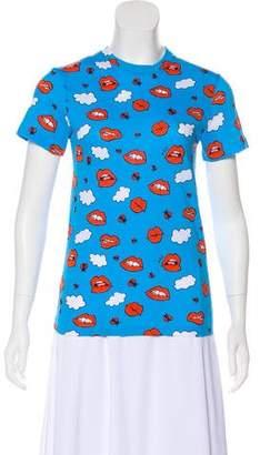 Au Jour Le Jour Printed Short Sleeve T-Shirt