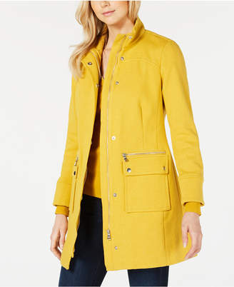 INC International Concepts I.n.c. Stand-Collar Knit Coat