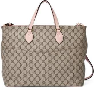 Gucci Soft GG Supreme diaper bag