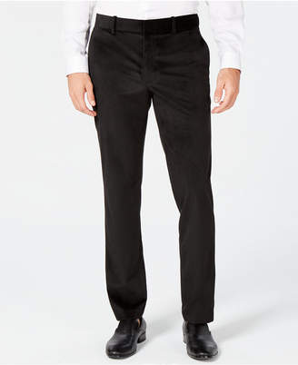 Alfani Men's Classic-Fit Velvet Pants