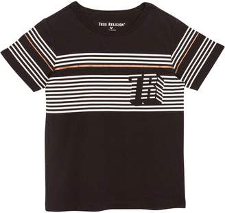 True Religion (トゥルー レリジョン) - True Religion Brand Jeans Pop Stripe T-Shirt