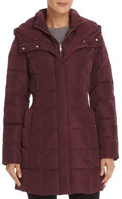 Cole Haan Zip-Front Puffer Coat