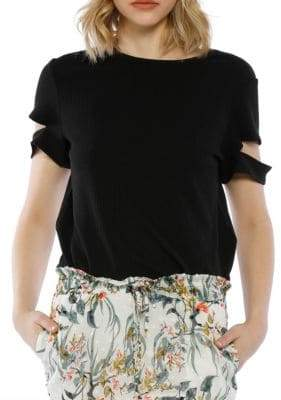 Kennedy Cut-Out Cotton Top