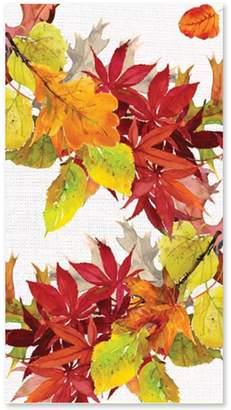 Paper Products Golden Autumn Guest Napkins, Set of 15